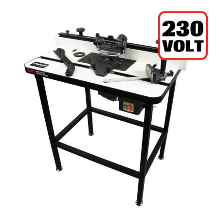 TREND WRT WORKSHOP ROUTER TABLE 240V + PAIR OF PRESSURE CLAMPS & LIMIT STOP FREE!