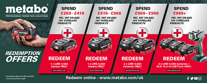 Metabo Redemption Offers