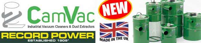 CamVac Extractors available now
