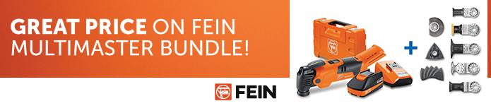 Great price of Fein Multimaster Bundle