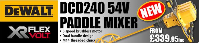 Dewalt DCD240 54V XR Flexvolt Paddle Mixer