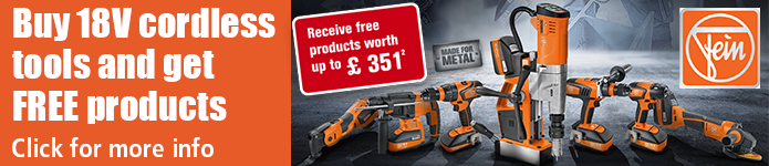 Fein 18V Promo - Buy cordless tools and get FREE products - details here
