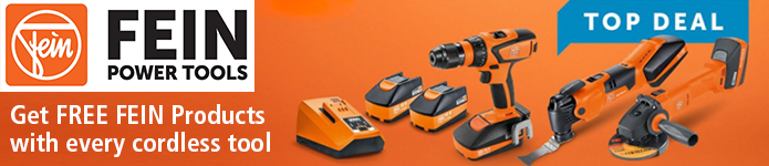FEIN Promo - Get FREE Fein products with every cordless tool