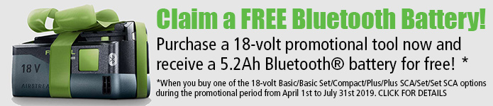 Festool FREE Battery Promotion - Click Here