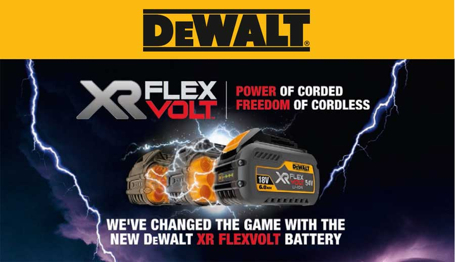 DeWALT XR FlexVolt Tools, Batteries & Accessories, Dewalt Power