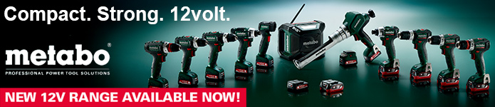 Metabo 12V Range - Now available