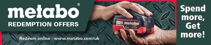 Metabo redemption offers - Spend more, get more!
