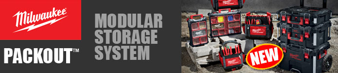 Milwaukee PACKOUT Modular Storage System - Coming Soon