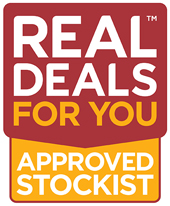 Real Deals for you Approved Stockist
