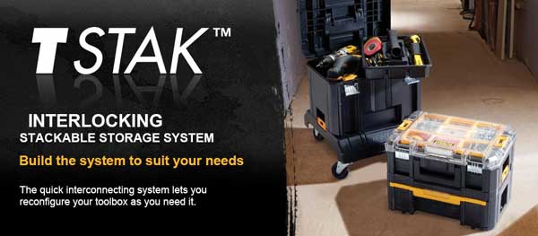 Dewalt T Stak Tool Storage Dewalt Power Tools Featured