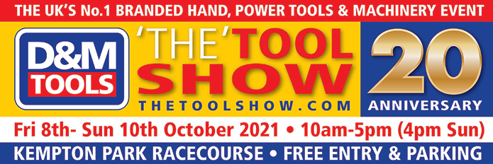 The Tool Show 2021 - Friday 8th - Sunday 10th October 2021