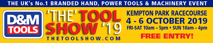 The Tool Show '19 - Kempton Park Racecourse - 4th-6th October