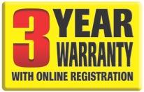 Trend 3 Year Warranty