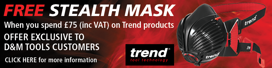 FREE Stealth Mask when you spend £75 (inc VAT) on Trend products - Clikc for more details