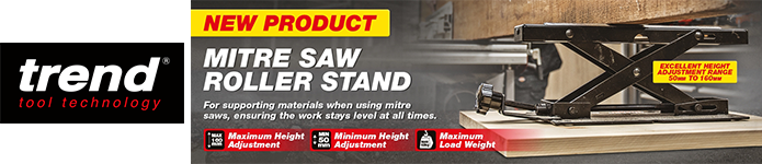 Trend Mitre Saw Roller Stand