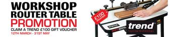 Trend WRT Promotion - Claim a £100 Trend Gift Voucher with purchase