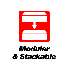 Modular & Stackable