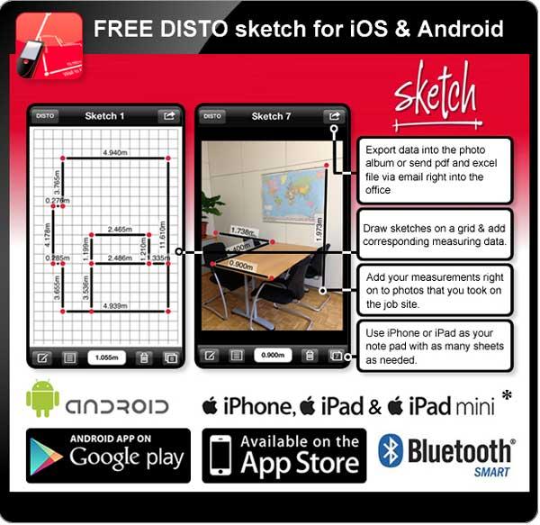 Free Disto sketch App