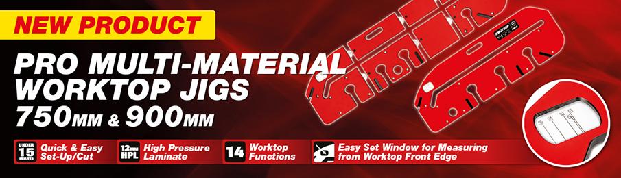 Trend Pro Multi Material Worktop Jigs