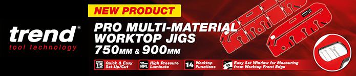 Trend Pro Multi-Material Worktop Jigs