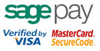 Sagepay, Mastercard Securecode, Verified By Visa