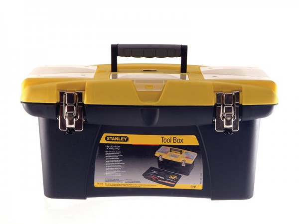 Stanley Jumbo Toolbox 16in + Tray 1-92-905