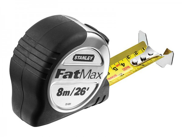 STANLEY  FATMAX XL TAPE RULE 8M/26FT    5 33 891 (Width 32mm)