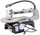 DRAPER 405mm 90W 230V Variable Speed Fretsaw with Flexible Drive Shaft and Worklight was £159.95 £109.95