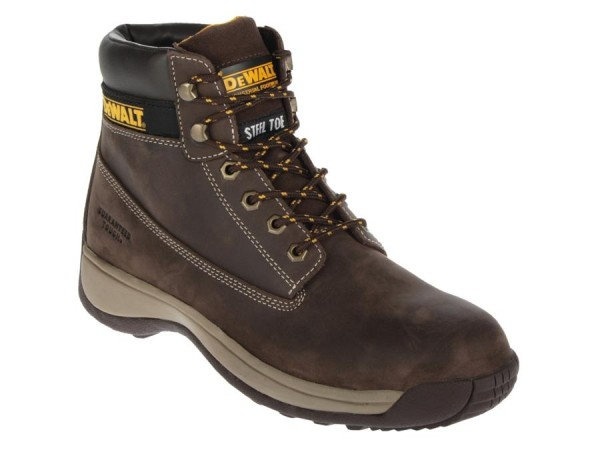 Dewalt Apprentice Safety Boot Brown Nubuck