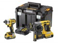 DEWALT DCK2532P2 XR Twin Pack 18 Volt 2 x 5.0Ah Li-Ion £399.95 The Dewalt Dck2532p2 Xr Twin Pack, Contains The Following: