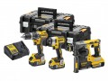 Dewalt DCK368P3T XR 18V Brushless Triple Kit 3 x 5.0Ah Li-Ion DCD796, DCF887N & DCH273 £609.95 The Dewalt Dck368p3t Xr 3 Piece Kit, Contains The Following: