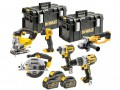 DEWALT DCK694T3 Brushless FlexVolt 18/54V 6 Piece Kit 18V 3 x 6.0Ah £899.00 The Dewalt Dck694t3 Brushless 6 Piece Kit, Contains The Following: