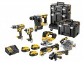 DEWALT DCK755P3T XR Brushless 7 Piece Kit 18V 3 x 5.0Ah Li-ion £1,199.00 Dewalt Dck755p3t Xr Brushless 7 Piece Kit 18v 3 X 5.0ah Li-ion