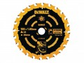 DEWALT Circular Saw Blade 165 x 20mm x 24T Corded Extreme Framing £14.99  