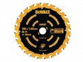DEWALT Circular Saw Blade 165 x 20mm x 24T Cordless Extreme Framing £14.99 