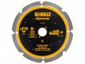 DEWALT Extreme PCD Fibre Cement Saw Blade 216 x 30mm x 8T £81.99 The Dewalt Extreme Cement Saw Blade Features Synthetic Pcd (polycrystalline Diamond) Tipped Teeth. These Pcd Coated Teeth Provide 100% Longer Life In Fibre Cement Than Tct Tipped Blades. The Laser Cut
