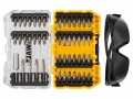 DEWALT DT70703 Screwdriving Set, 47 Piece + Safety Glasses £16.99 The Dewalt Dt70703 Screwdriving Set Is Supplied In A Tough Case+, This Is Part Of A Connectable Case System That Is Tstak™ Compatible. Individual Tough Cases Can Be Clipped Together For Easy Tra