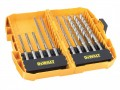 DEWALT DT8977B XLR SDS Drill Bit Set 10 Piece £39.99 The Dewalt xlr Sds Drill Bits Have A Solid Carbide Head That Ensures Optimum Drilling Performance And Greater Durability. Its 4cutter Geometry Provides Clean Holes, High Drilling Speed And Reduce