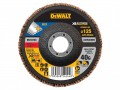 DEWALT FlexVolt XR Flap Disc 125mm 40G £5.75 The Dewalt Flexvolt Xr Flap Discs Are Suited To Sanding Applications In Metals And Various Other Materials. Ideal For The Sanding Down Of Primer And Light Rust. Manufactured From Ceramic And Part Of T