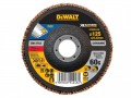 DEWALT FlexVolt XR Flap Disc 125mm 60G £5.60 The Dewalt Flexvolt Xr Flap Discs Are Suited To Sanding Applications In Metals And Various Other Materials. Ideal For The Sanding Down Of Primer And Light Rust. Manufactured From Ceramic And Part Of T