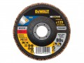 DEWALT FlexVolt XR Flap Disc 125mm 80G £5.99 The Dewalt Flexvolt Xr Flap Discs Are Suited To Sanding Applications In Metals And Various Other Materials. Ideal For The Sanding Down Of Primer And Light Rust. Manufactured From Ceramic And Part Of T