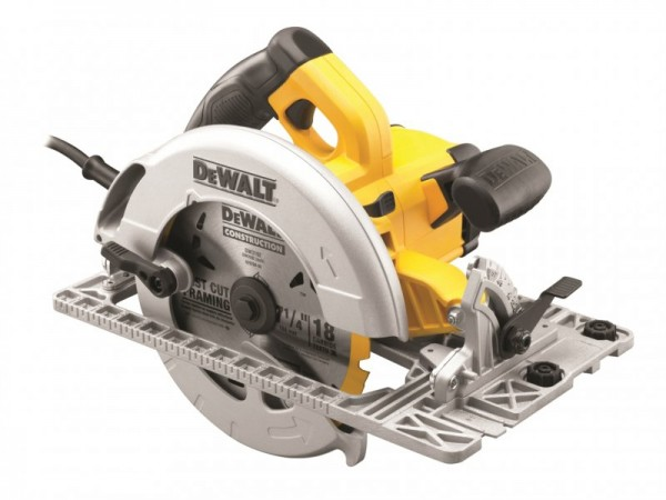 DeWalt DWE576K 240v Precision Circular Saw 190mm With TRACK Base