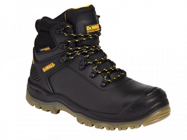DEWALT Newark Black S3 Waterproof Safety Hiker Boots