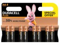 Duracell AA Cell Plus Power LR6/HP7 Batteries (Pack 8) £4.49 Duracell Plus Power Batteries Provide Reliable Performance And Long-lasting Power In A Broad Range Of Everyday Devices. They Are Ideal For Powering Remote Controls, Cd Players, Motorised Toys, Torches