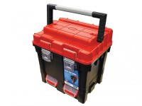 Faithfull Plastic Cube Toolbox - 2 Trays 17in Deep was £34.99 £28.99