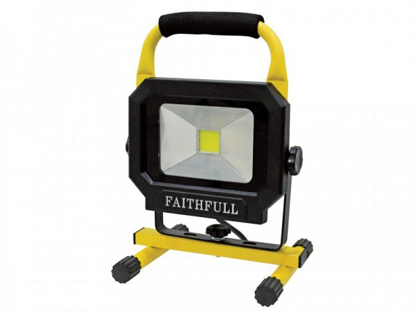 Faithfull Power Plus LED Pod Sitelight 1400 Lumen 20 Watt 240 Volt