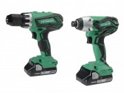 Hitachi KC18DGL(S) Twin Pack 18 Volt 2 x 3.0Ah Li-Ion £179.95