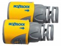 Hozelock 2050 Hose End Connector Plus for 12.5-15mm (1/2-5/8in) Hose (Twin Pack) £9.99 Hozelock Quick-connect Hose Connectors Where All Internal Parts Are Made From Ultra Tough Engineering Plastics For A Long Leak-free Life. The Connection To The Tap Is Guaranteed Secure Up To 10 Bar, D