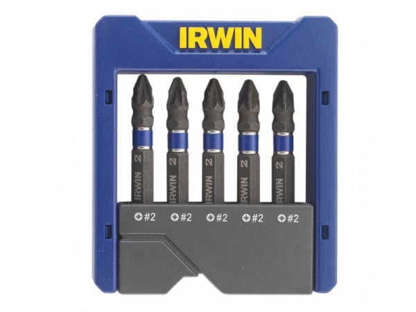 IRWIN Impact Screwdriver Pocket Bit Set of 5 Pozi