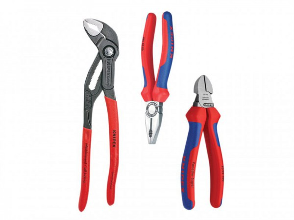 Knipex Best Selling Pliers Set 3 Piece